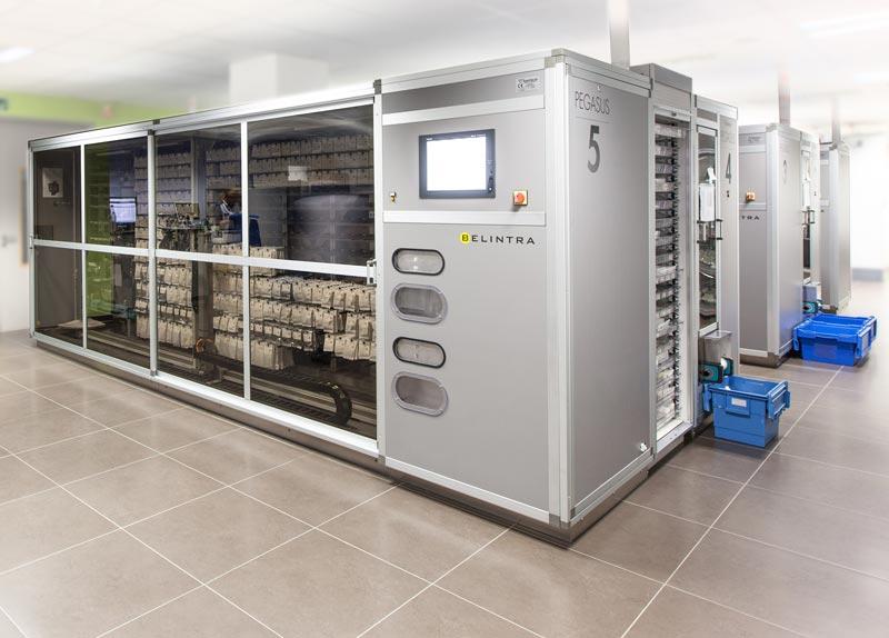 Protezione macchina settore farmaceutico