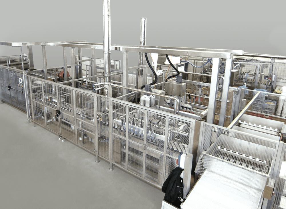 Protezione inox settore alimentare
