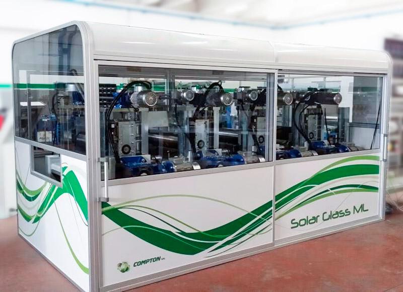 Cabina impianto reciclaggio