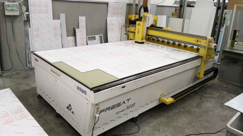 Pantografo CNC per lavorazioni plastiche
